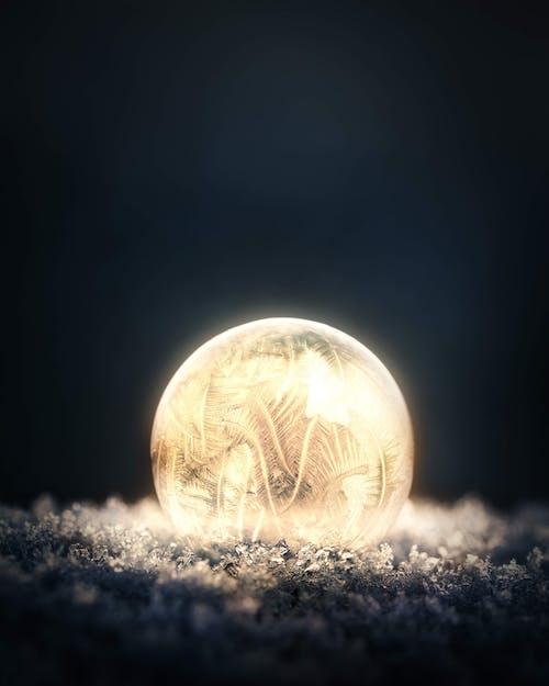 Foto profissional grátis de apaixonado, bolha, com frio, congelado