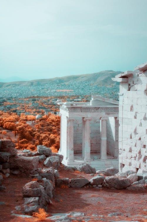 Foto profissional grátis de acrópole, ancião, arquitetura, Atenas