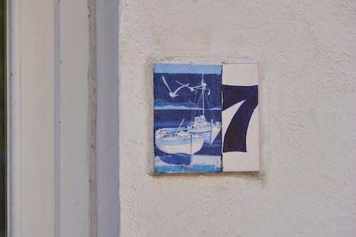 Darmowe zdjęcie z galerii z adresse, bleu, carreau, dekory