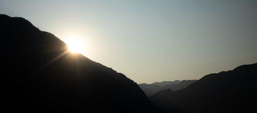 Imagine de stoc gratuită din cer, minimalist, munți
