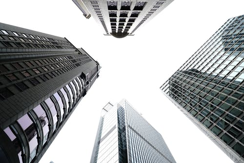 Foto d'estoc gratuïta de a l'aire lliure, angle baix, arquitectònic, arquitectura