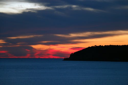 Free stock photo of autumn colors, beautiful, island, sunset