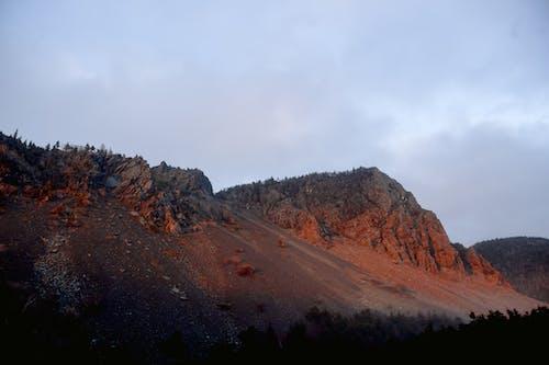 Foto stok gratis awan, di luar rumah, formasi batuan, formasi geologi