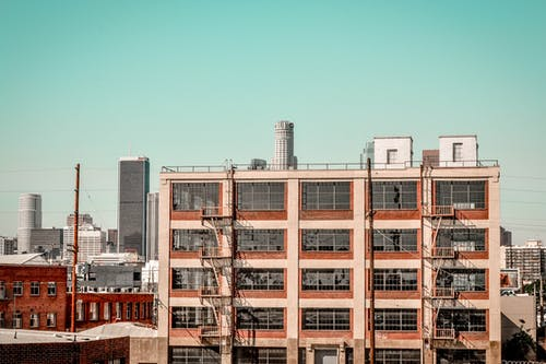Ingyenes stockfotó ablakok, acél, beton, design témában