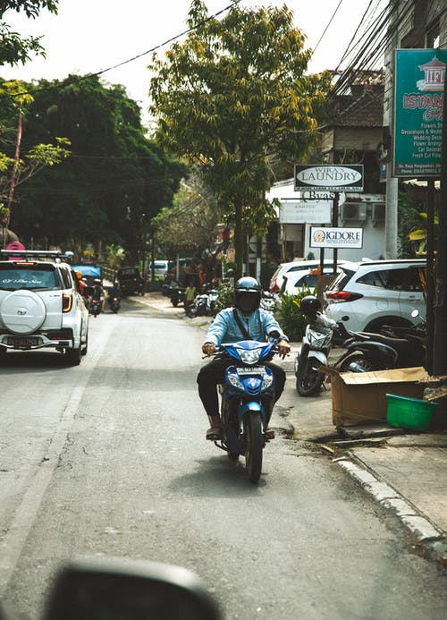 Free stock photo of bali, bike, moto, road