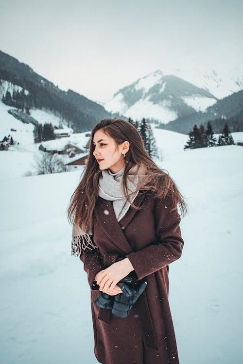 Immagine gratuita di abbigliamento invernale, abiti invernali, donna, femmina