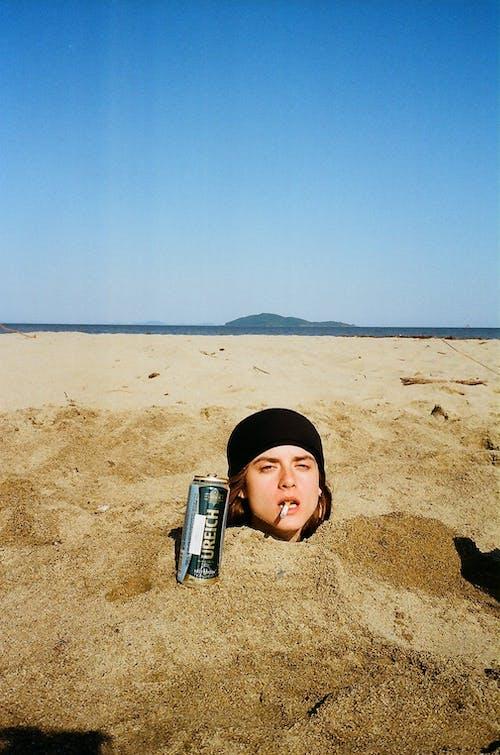 Δωρεάν στοκ φωτογραφιών με άμμος, αμμώδης, άνδρας, άνθρωπος