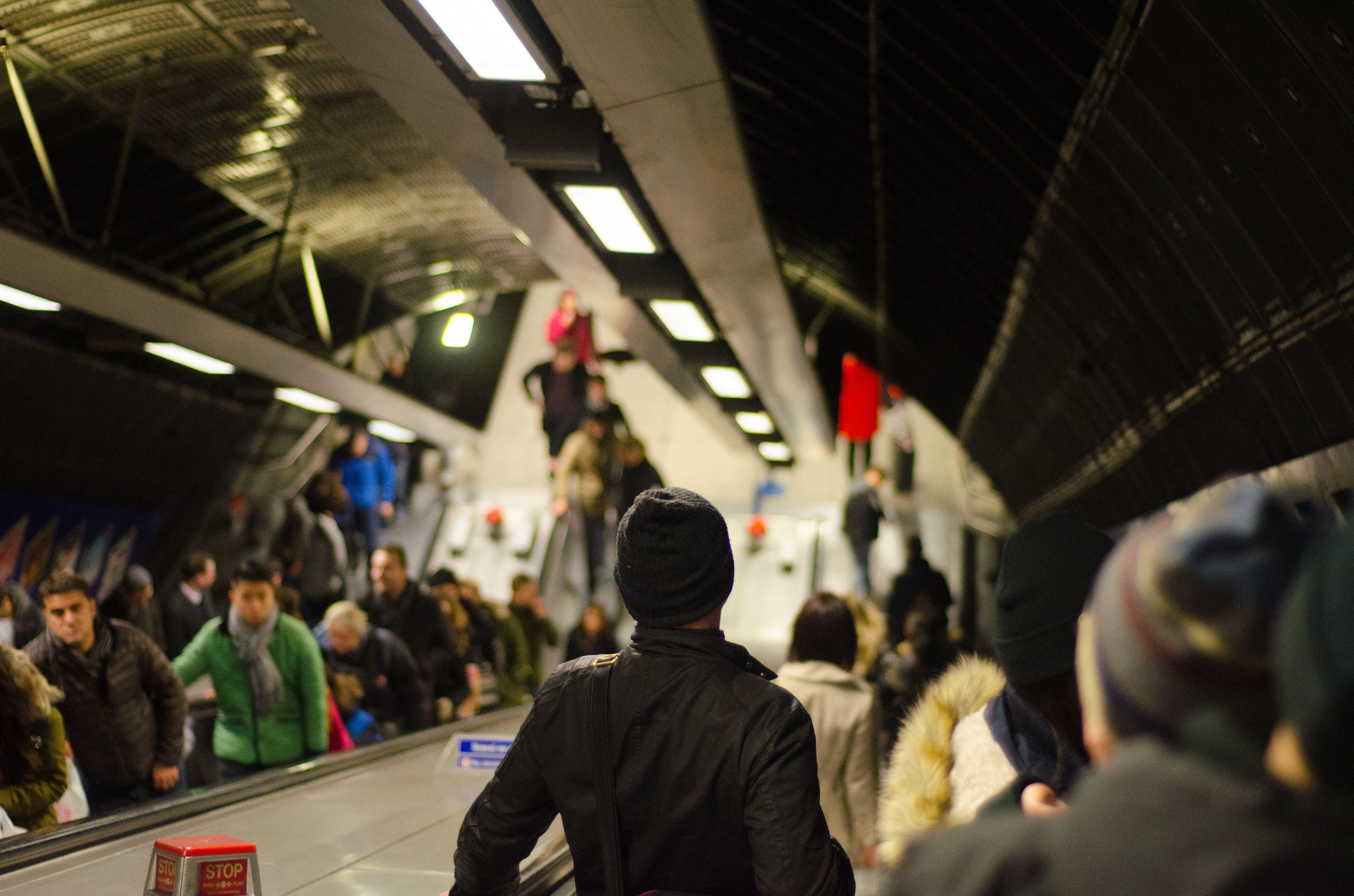 Man Wearing Black Knitted Cap