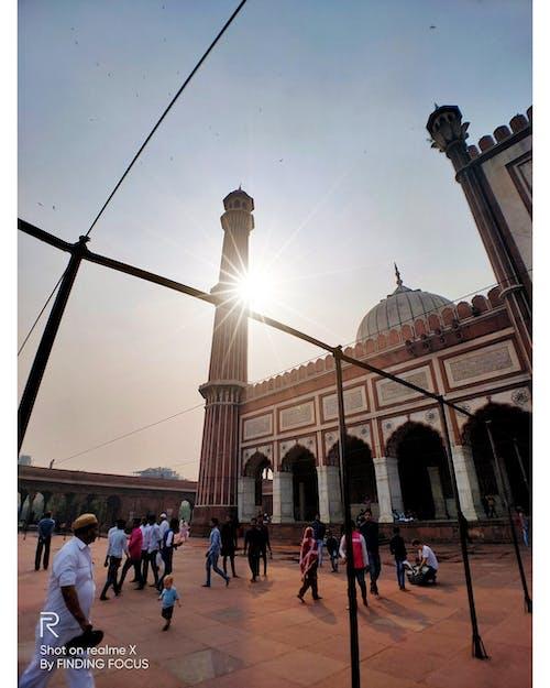 Fotos de stock gratuitas de arquitectura, calle antigua, calle ocupada, Delhi