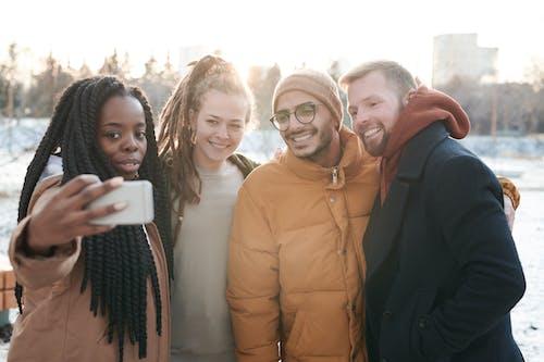 Photo of People Taking Selfie