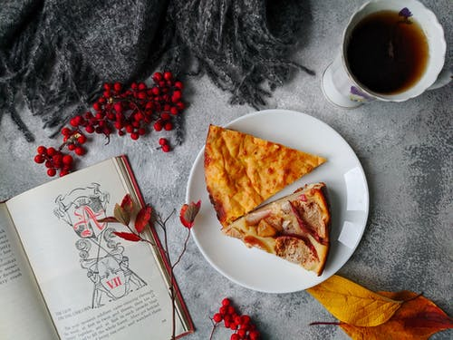 Photo Of Pizza Near Book