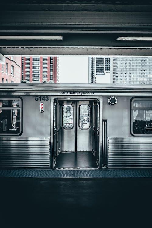 Foto stok gratis chicago, kendaraan umum, kosong, lokomotif