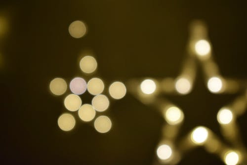 Základová fotografie zdarma na téma rozmazané světla, rozmazaný, zlatožlutá, žluté světlo