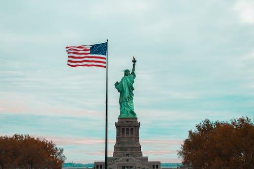 Kostenloses Stock Foto zu amerika, amerikanisch, amerikanische flagge, fahnenstange