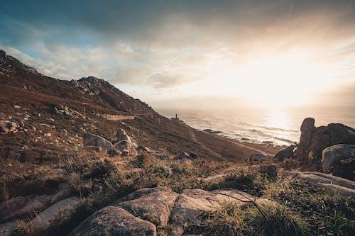 açık hava, akşam karanlığı, bulutlar, çim içeren Ücretsiz stok fotoğraf