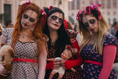 Photo of Women Wearing Halloween Costume