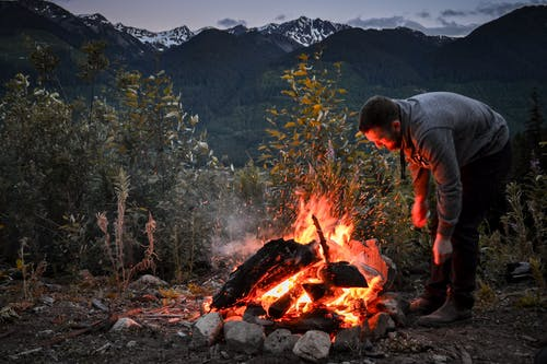 Free stock photo of bonfire, burning, camp fire, campfire