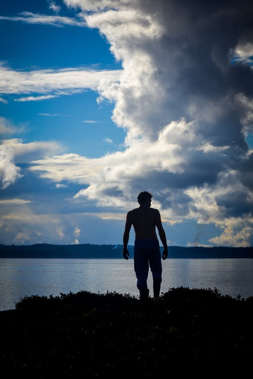 Free stock photo of blue skies, british columbia, canada, cloudy skies