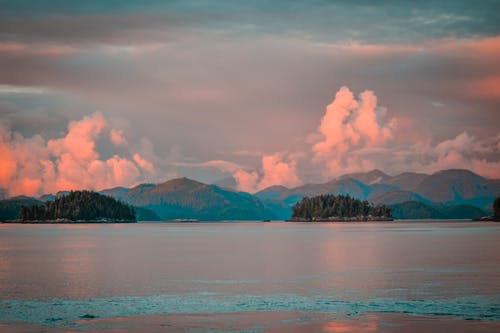 Free stock photo of Beautiful sunset, british columbia, canada, cloudy skies