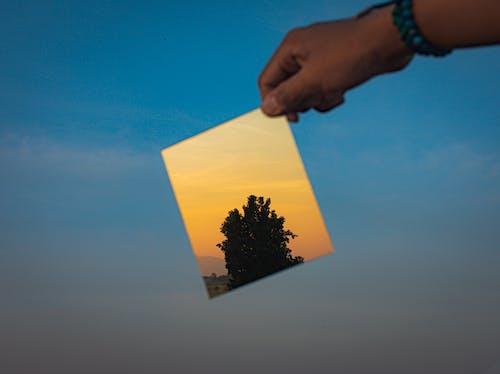 Gratis arkivbilde med daggry, makro, refleksjon, skumring