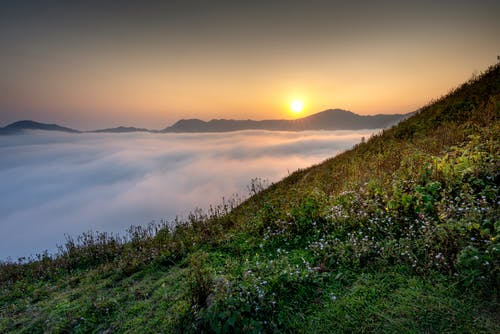 Green Mountain during Golden Hour