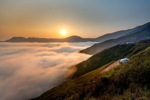 Základová fotografie zdarma na téma hora, krajina, příroda, rozbřesk