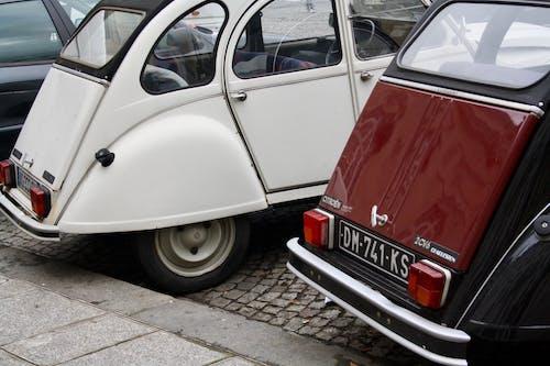 คลังภาพถ่ายฟรี ของ ที่จอดรถ, ย้อนยุค, รถ, วินเทจ
