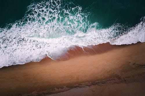 Photographie Aérienne De Mousse De Mer