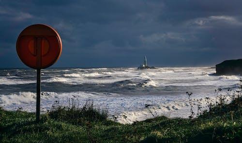 Fotobanka sbezplatnými fotkami na tému krajina pri mori, kývať, more, oceán