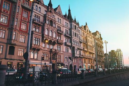 Základová fotografie zdarma na téma architektura, barva, budovy, centrum města