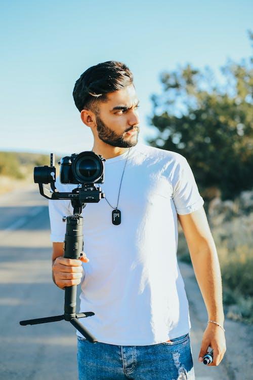 人, 相機, 肖像 的 免費圖庫相片