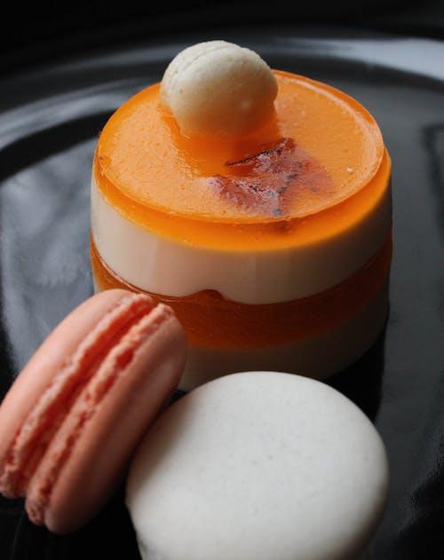 Kostenloses Stock Foto zu вкусно, желе, макаруни, пирожное