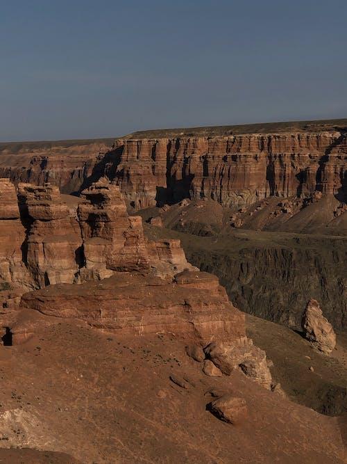 Photos gratuites de canyon, iphone, kazakhstan, voyager