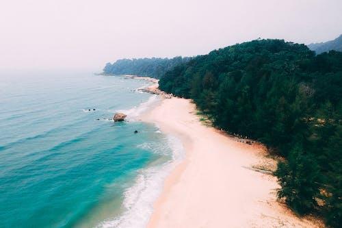 Аэрофотоснимок пляжа