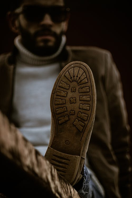 Person Wearing A Shoe