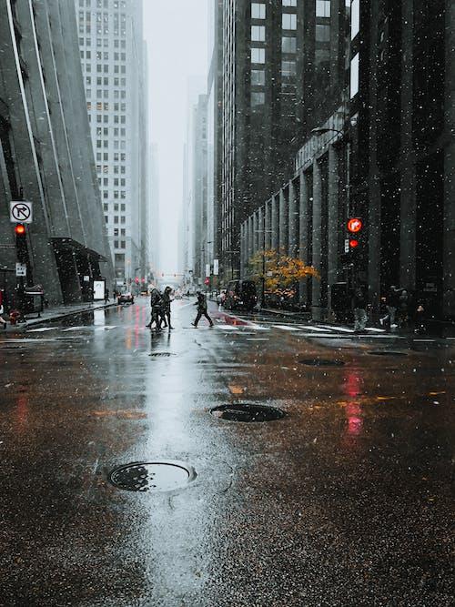 Бесплатное стоковое фото с автомобиль, город, городской, дождь