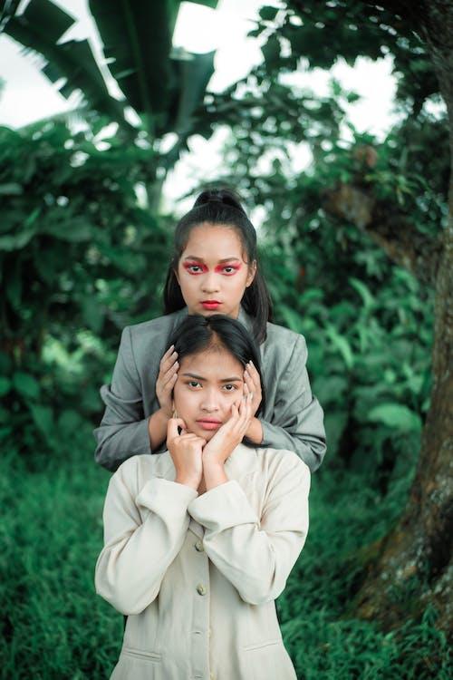 asijské holky, asijské ženy, denní světlo