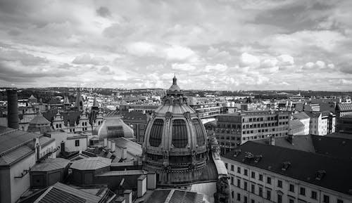 Free stock photo of capital, city, cloudy sky