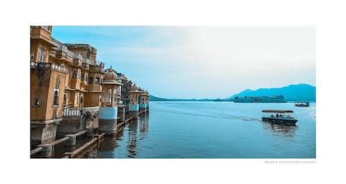 Free stock photo of festival of india, lake, palace