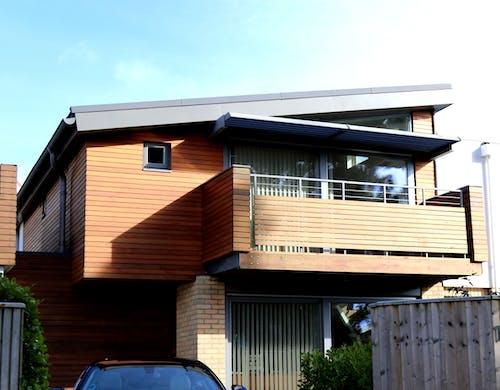 Gratis lagerfoto af arkitektdesign, arkitektur, autoværksted, balkon