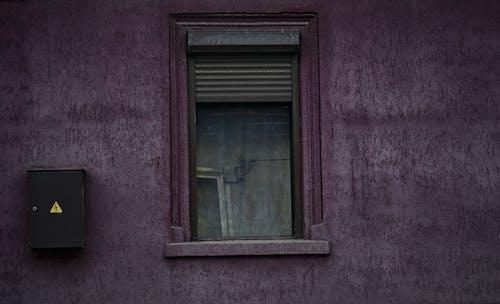 Бесплатное стоковое фото с стеклянные окна, фиолетовый