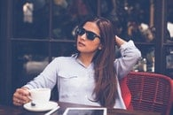 restaurant, fashion, sunglasses