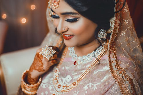 Photo Of A Beautiful Bride