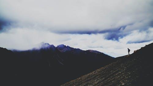 Imagine de stoc gratuită din alpinist, amurg, apus, aventură