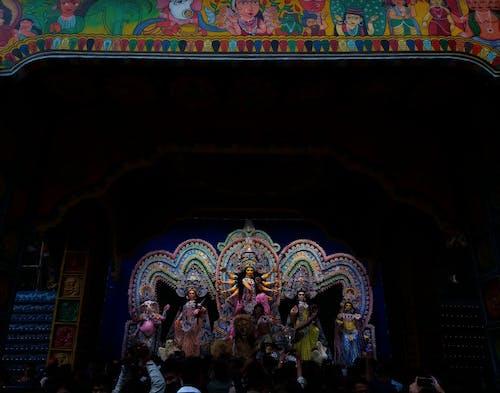 Free stock photo of crowded, durga pujo, festival