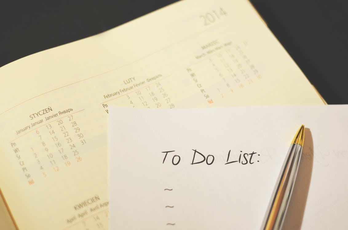 Stay organized with To do lists