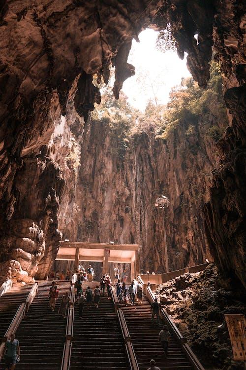Δωρεάν στοκ φωτογραφιών με Μαλαισία, σκάλα, σκάλες, σπήλαια batu