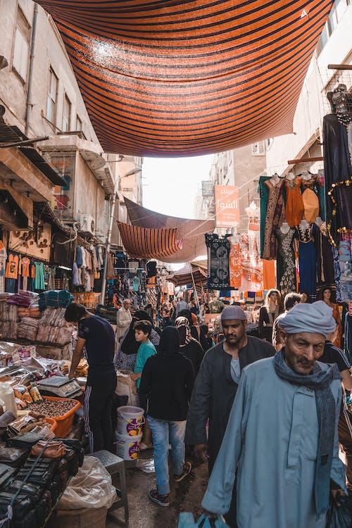Бесплатное стоковое фото с базар, группа, египет, каир
