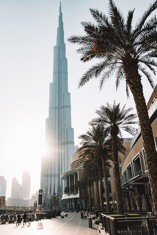 Gratis arkivbilde med arkitektur, burj khalifa, by, bygning