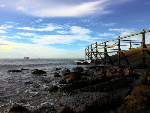 คลังภาพถ่ายฟรี ของ การถ่ายภาพ, ชายหาด, ท้องฟ้าสีคราม, ธรรมชาติ